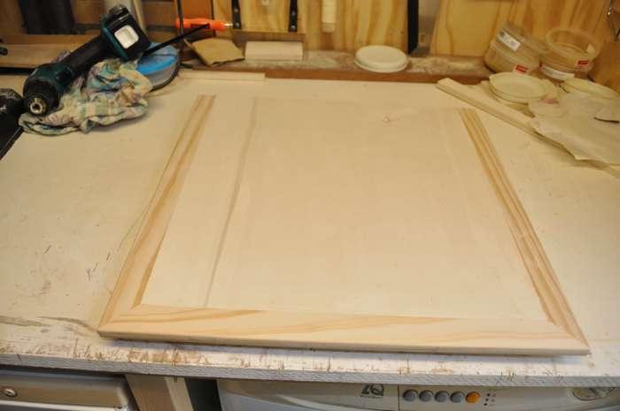 Een zwevende tafel voor een kolomboor de constructie van for Tafelblad maken